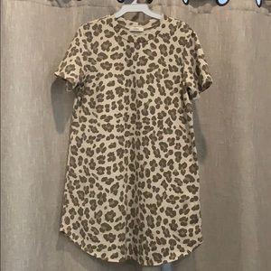 Cherish leopard dress